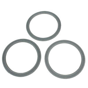 3 X Ridged Liquidiser Base Seal Blender Sealing Anneau For Kenwood FP580 Series