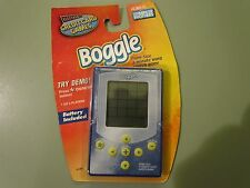 ELECTRONIC BOGGLE CREDIT CARD GAMES MINI PALM SIZE NEW FACTORY SEALED 2003