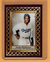 Jackie Robinson '47 Brooklyn Dodgers Fan Club serial numbered /300
