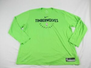 Minnesota Timberwolves Nike Long Sleeve Shirt Men's New Multiple Sizes