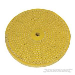 Silverline Sisal Polierscheibe 150mm Hart