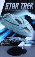 Star Trek U.S.S. Voyager Sternbach Concept Model Ship Bonus Edition 11 Eaglemoss