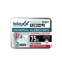 bloxx® Power Klebestrips Doppelseitig 75 Stück | bis 2,5kg, Wasserfest NEU + OVP