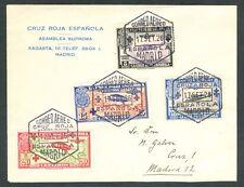 ESPAÑA 17.SEPT.1926 - EDIFIL 339/42 - SOBRE PRIMER DÍA - MATASELLOS SEVILLA