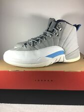 Nike Air Jordan 12 XII Wolf Grey University Blue UNC 130690 007 Size 9 OG Box