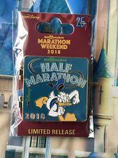 Disney Parks Marathon Weekend 2018 Half Marathon Hinged Pin Run Disney Donald