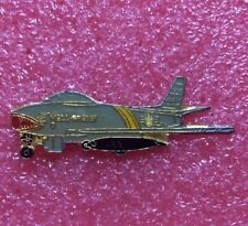 Pins Avion de Chasse NORTH AMERICAN F-86 SABRE Plane Aviation AIRCRAFT Airplane