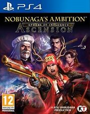 Nobunagas Ambition Sphere of Influence - Ascension Ps4