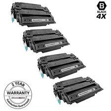 4PK CE255X 55X HY Toner Cartridge for HP Enterprise 500 MFP M525dn M525f M525c