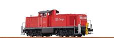 BRAWA 41512 H0 Locomotora diésel BR294 DB Cargo V AC Digital Básico