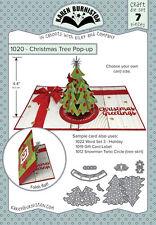 Karen Burniston CHRISTMAS TREE POP UP 1020 Die Set