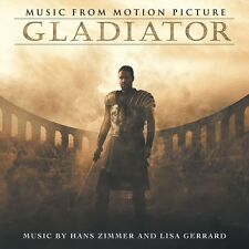 GLADIATOR - MUSIC FROM MOTION PICTURE (H.ZIMMER/L.GERRARD) 2 VINYL LP NEU