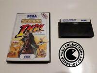 Indy indiana jones - Sega - master system - PAL