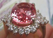 Ringe mit Saphir echten Edelsteinen für Damen (17,5 mm Ø) von