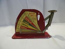 Vintage Jiffy Way Egg Scale Brower Mfg. Co. Quincy, Illinois