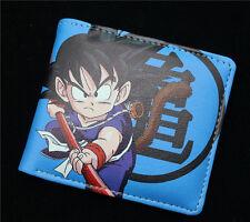 New Dragon Ball Z wallet Son Goku DBZ wallet Bifold Leather pu Purse A style VGD
