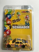 #36 KEN SCHRADER M&M'S 2002 PONTIAC GRAND PRIX 1/10,008 1/64 Limited Edition