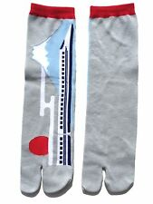 Nagomi Mt. Fuji & Shinkansen Bullet Train Tabi Socks, Free Size