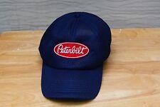 Rare Vtg St. Louis Peterbilt Logo Mesh Adjustable Hat Cap Trucker Trucking Semi