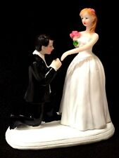 Wedding Proposal Engagement Figurine Cake Topper Party Decoration Gift Favor