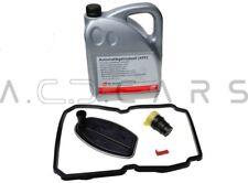FEBI Ölwechsel SET Getriebeölfilter + Dichtung + Stecker + 5L ATF MERCEDES 722.6