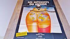 LES INTERDITS DU MONDE   !  affiche cinema