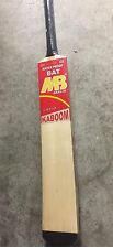 "MB Malik Tape & Tennis Ball Cricket Bat Light Weight ""Kaboom""New, With Bat Cover"