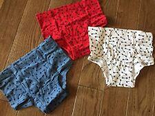 NEW HANNA ANDERSSON Boys Organic Arrow Unders Underwear XL 160 16 17 18