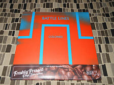 "BATTLE LINES  COLONIES  NO SLEEP RECORDS  7"" COLORED Vinyl SEALED"