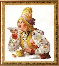 Counted Cross Stitch KitWONDERFUL NEEDLE - Young ladies at tea