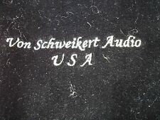 Velvet Cover For One Von Schweikert Vr-2 Speaker, Rare