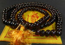 Buddhist 9.75 mm REAL RED SANDALWOOD PRAYER BEAD MALA Empowered POSITIVE ENERGY