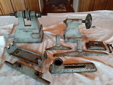 Vintage Wallace Lathe Parts