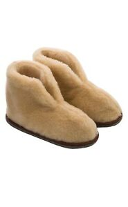 Shearling home slippers   Unisex   Exclusive Christmas present  
