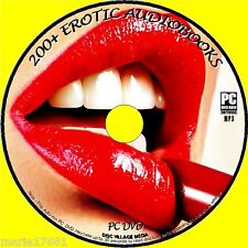 200 Great EROTICO MP3 AUDIO LIBRI CORTO STORIE + ORE DI HOT ASCOLTO NUOVO PC DVD
