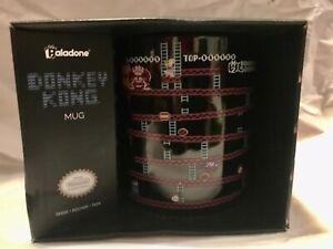 Donkey Kong Mug Cup Official Nintendo Livensed  Oversized Large Black