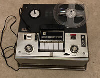 Portable Reel to Reel J.C.Penny Model 6216 Made in Japan *Tested* Comes W/Manual