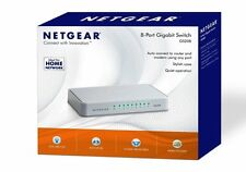 NEXT DAY DELIVERY NETGEAR GS208-100UKS 8 Port Gigabit Ethernet Switch Network
