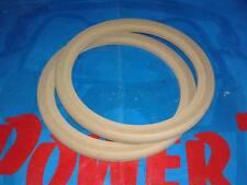 Coppia ANELLI Supporto Altoparlante Woofer Anello Legno MDF 250 mm 25 cm  incavo