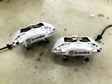 2008 2009 G8 Gxp Front Lh Amp Rh Brembo Calipers With Hoses L1