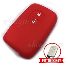 Silicone Key Cover Remote Smart Case Fob for Toyota Camry Highlander Prado