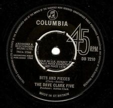 THE DAVE CLARK FIVE Bits And Pieces Vinyl Record 7 Inch Columbia DB 7210 1964 EX