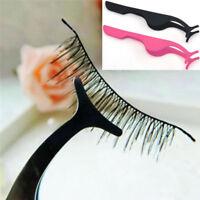 Beauty False Eyelash Extension Fake Applicator Remover Clip Makeup Tweezer Tool