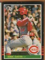 1985 Donruss Baseball - #325 Eric Davis RC - Cincinnati Reds - nrmt condition