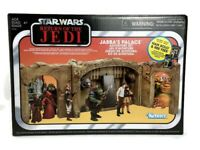 Star Wars Return of the Jedi Jabba's Palace Play Set Han Solo & Ree Yees Figures
