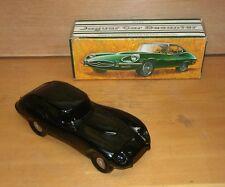 Antique Avon Jaguar Car Decantor w/ Original box, Full!