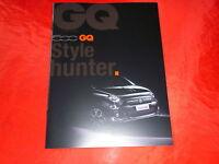 FIAT 500 GQ Sondermodell Prospekt von 2013