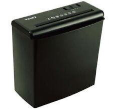A4 PAPER ELECTRIC SHREDDER STRIP CUT SHREDDING CARD DOCUMENT 10L BIN 6 SHEET
