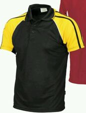 Bots polo t shirt (black  and  yellow) size 4