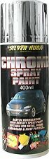 Silverhook Chrome Effect Acrylic Spray Paint Can for Metal and Wood 400ml
